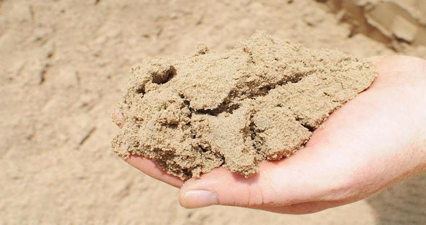 сертификат на песок строительный